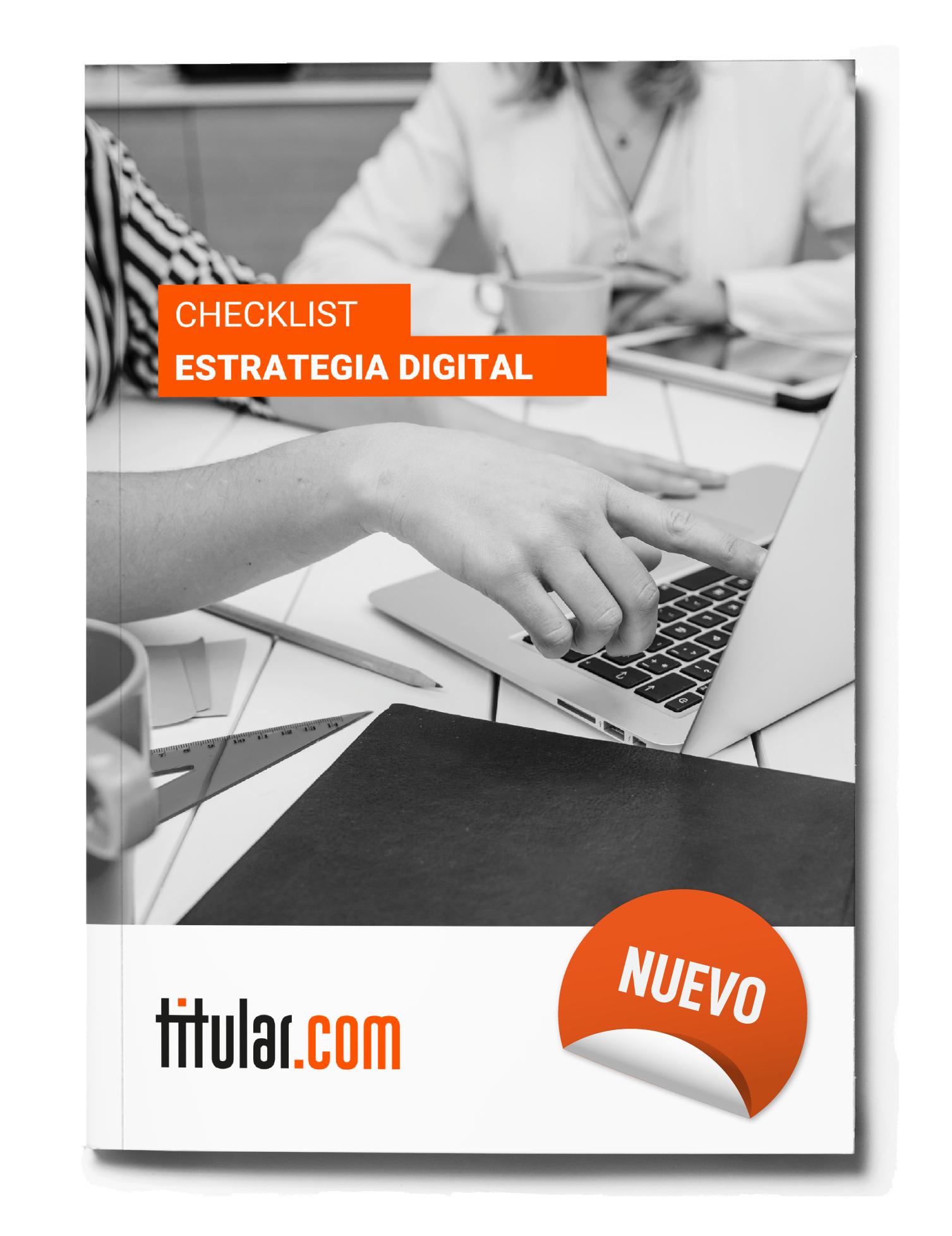 Checklist de estrategia digital