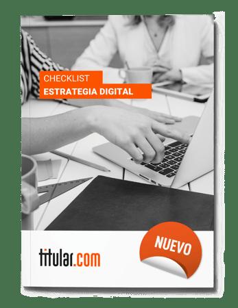 Checklist de marketing digital